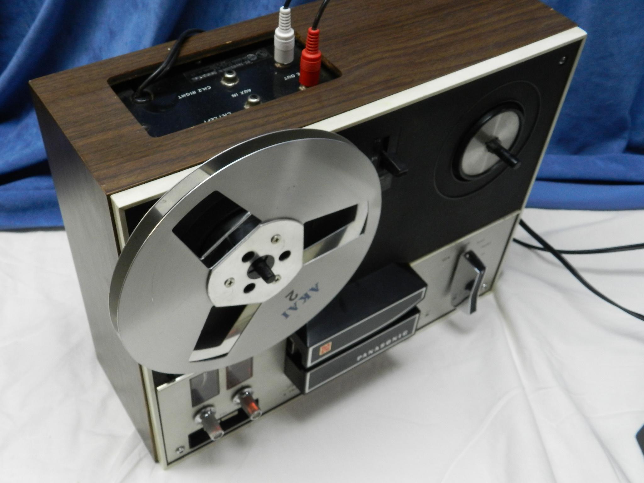 $25 - Panasonic Open Reel to Reel Audio Deck