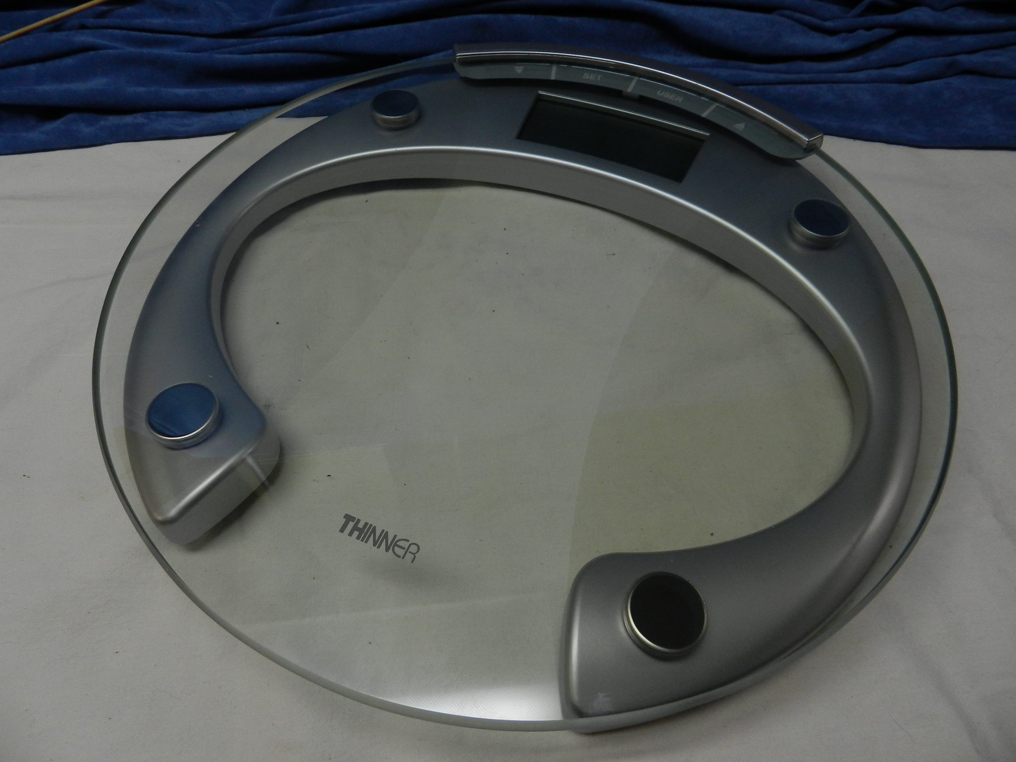 **SOLD**  Conair Thinner Glass Digital Precision Bathroom Scale