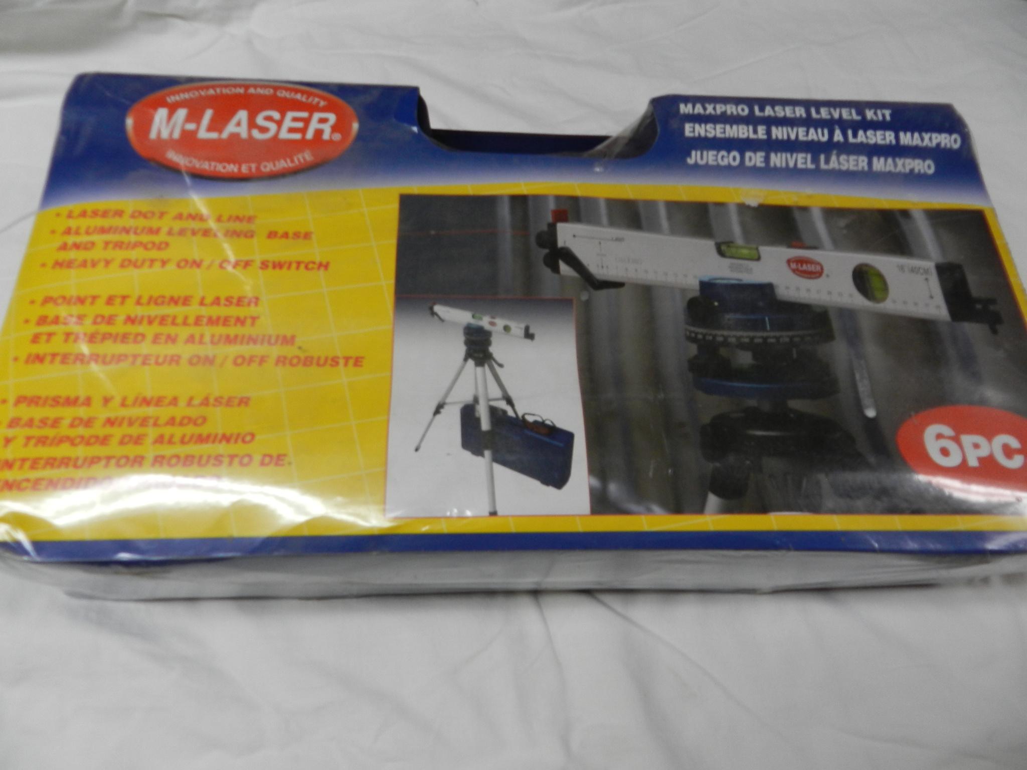 $57 - Laser Leveling Kit - NEW
