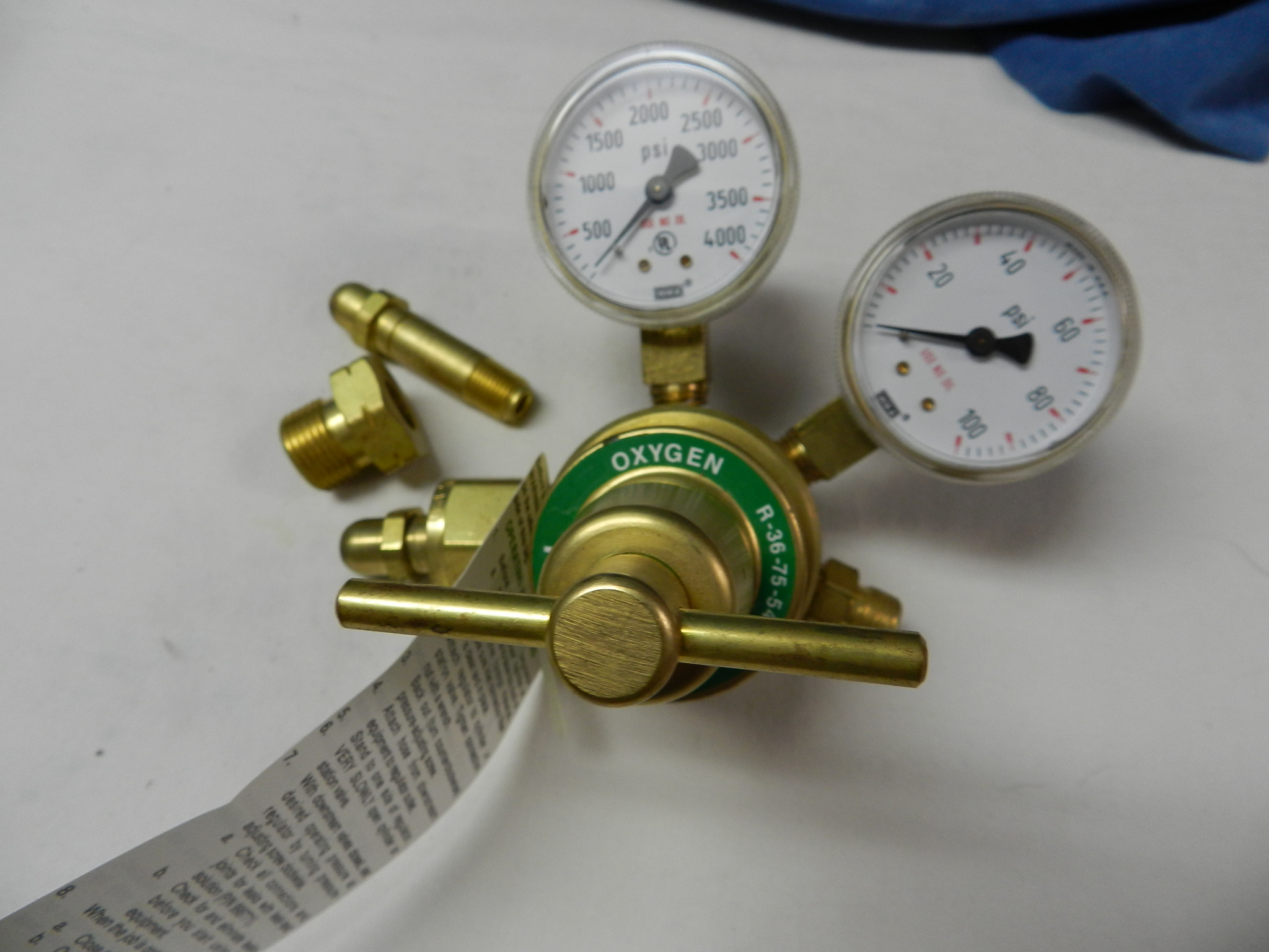 $62 - NEW : Prest-O-Lite Oxygen Regulator