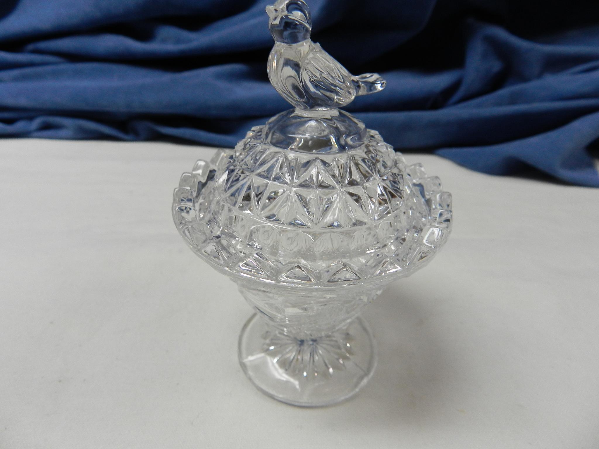$49 - Hofbauer Trinket Box and Pinwheel Crystal Items