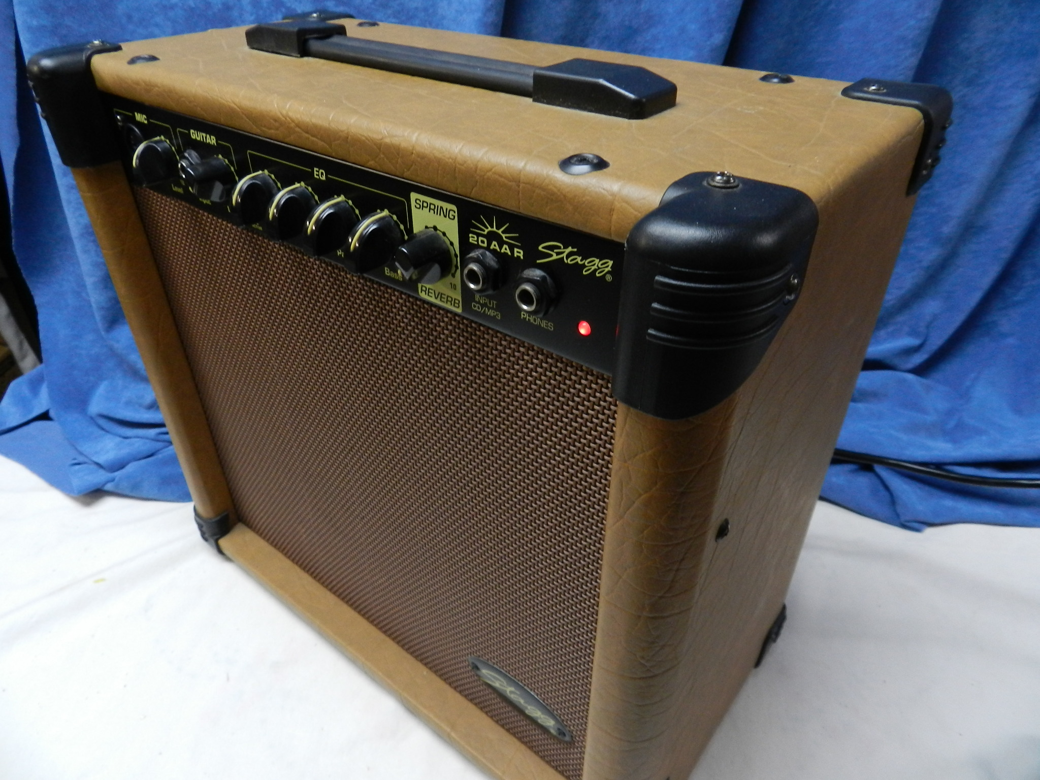$133 - Stagg 20AAR Acoustic Guitar Amplifier w/Spring Reverb