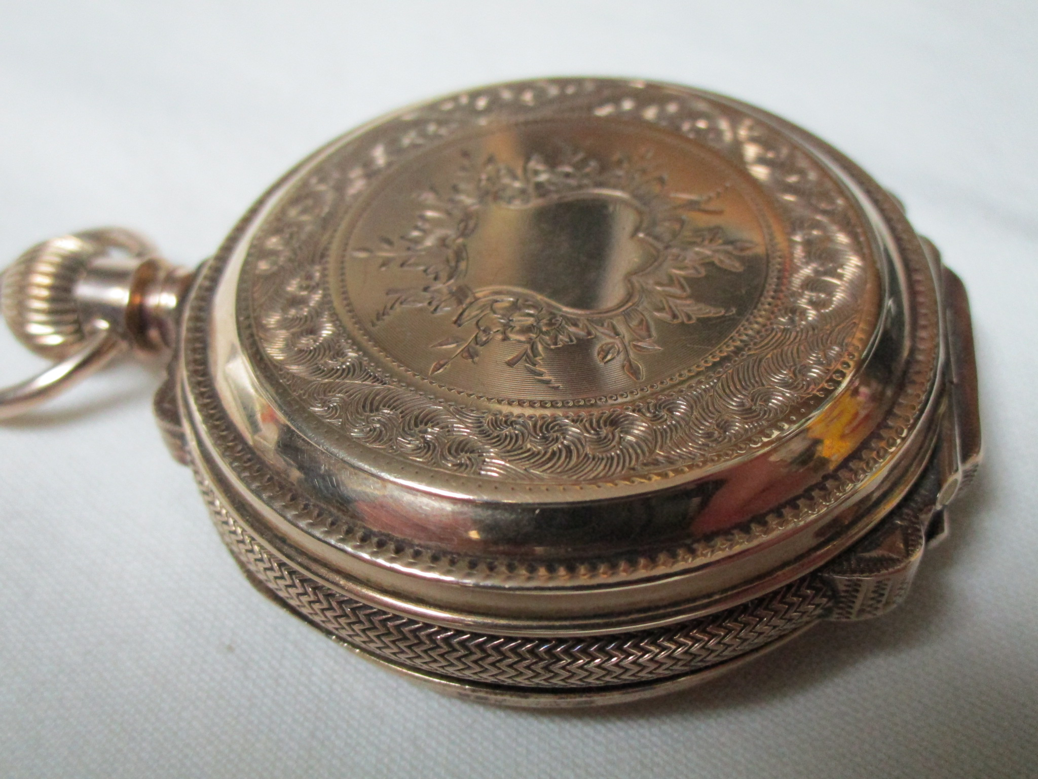 $xxx - Waltham P.S.B. -Brooklyn Eagle- Pocket Watch - Vintage 1877